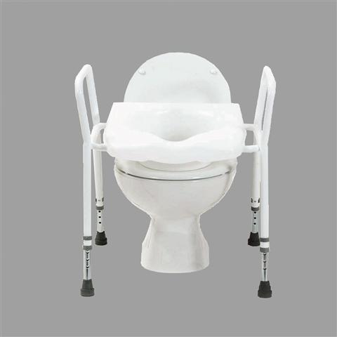 Tremendous Raised Toilet Seat Surround Frankydiablos Diy Chair Ideas Frankydiabloscom