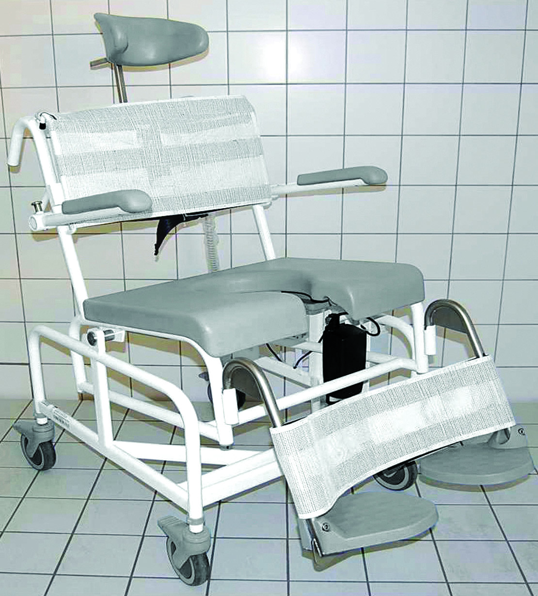 Heavy Duty Electrically Operated tilt-in Space Shower Chair - OT Network