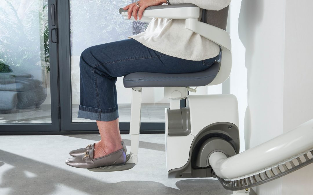 Irish Stairlifts & Bathrooms | Thyssen Flow X Curved Stairlift